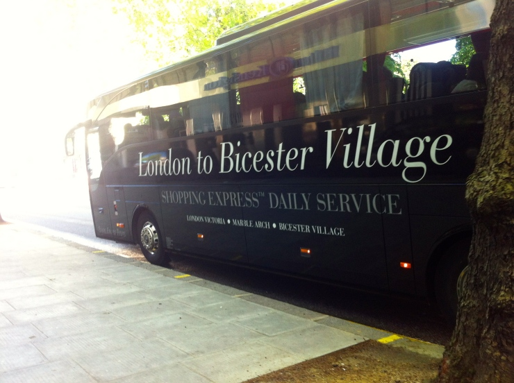 Bicester Village Shopping Express coach