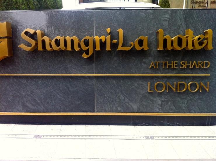 Shangri-La sign