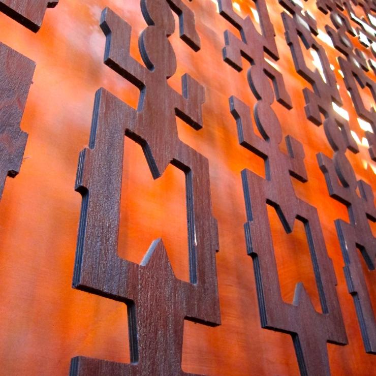 African Wall Frieze