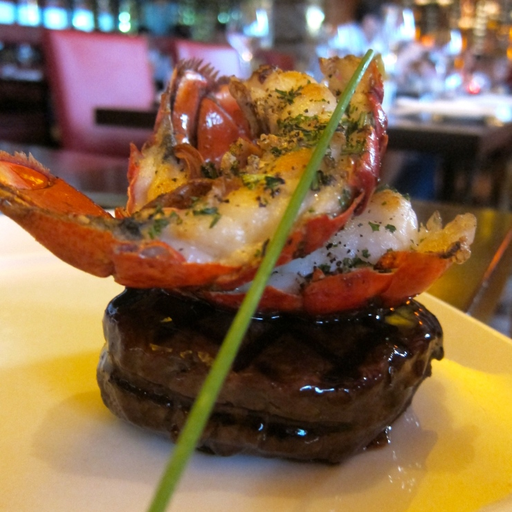 Fillet Steak and Lobster Tail, The Meat Co