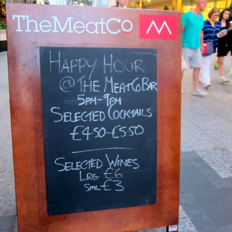 Happy Hour, The Meat Co