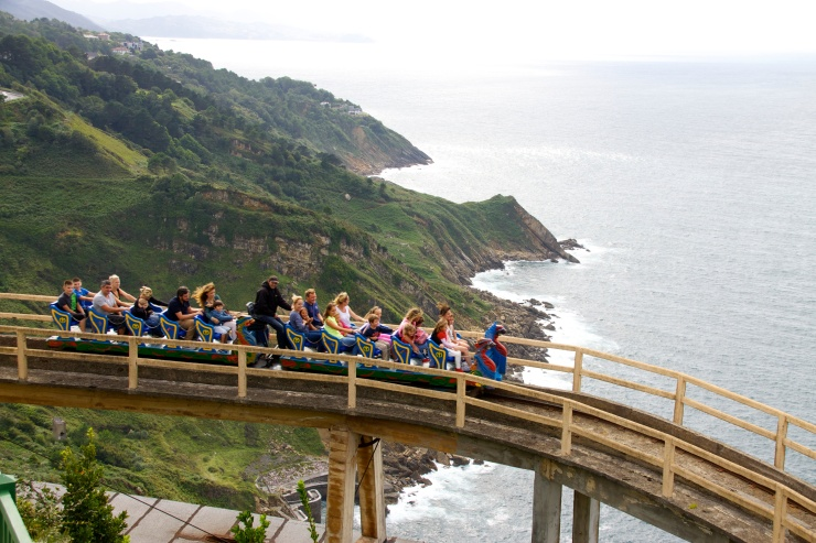 Roller Coaster Mount Igueldo