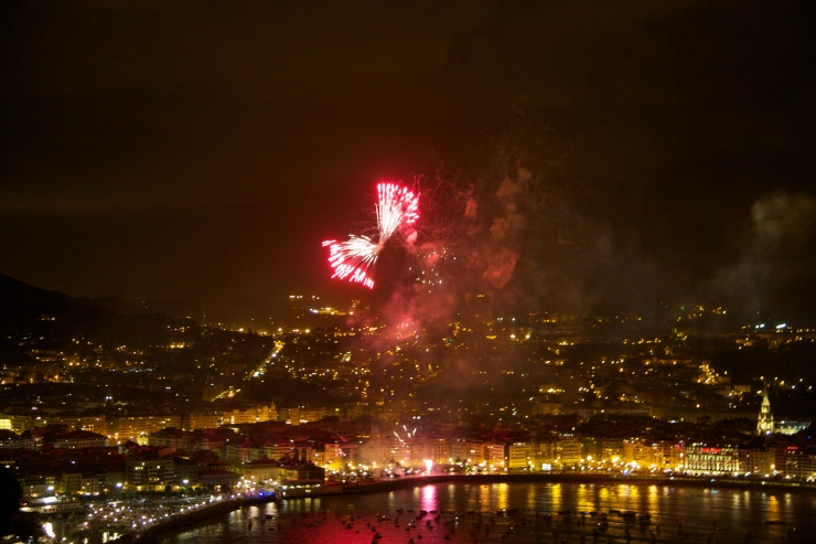 Fireworks, San Sebastian