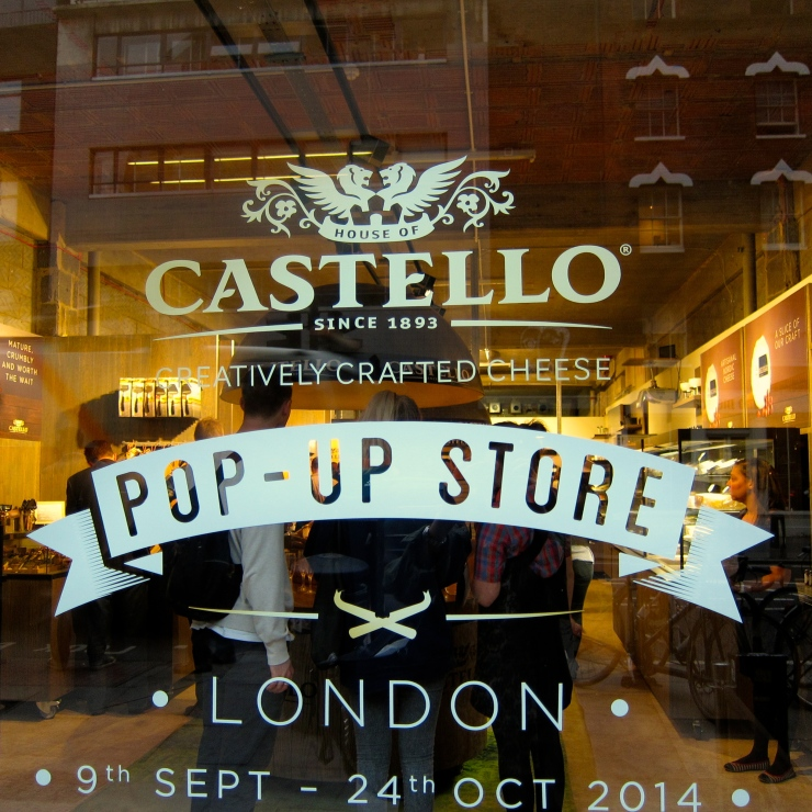 Castello Pop Up Shop, Shoreditch
