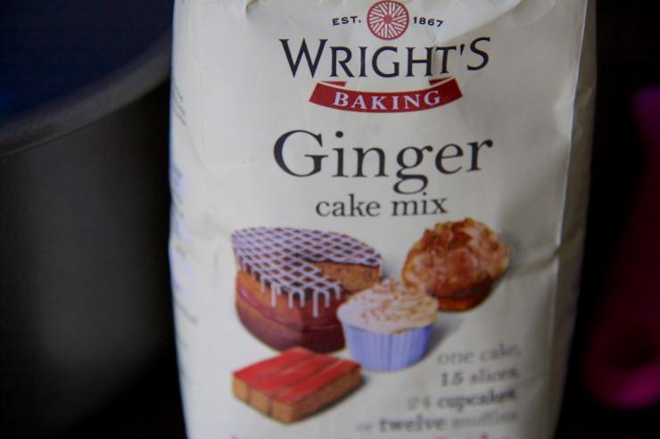 Wright's Ginger Cake