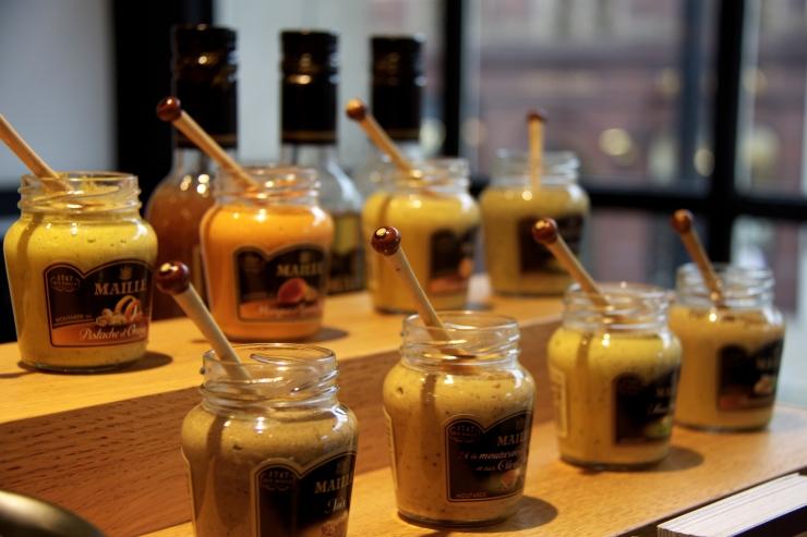 Maille mustard jars