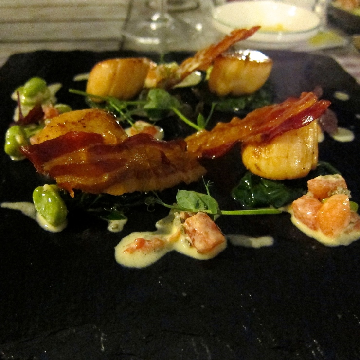 Scallops, Sumas Restaurant, Jersey