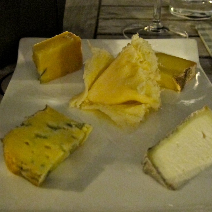 Cheese Plate, Sumas Restaurant, Jersey