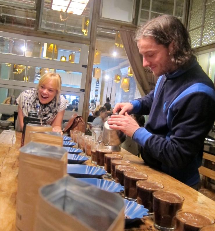Coffee tastings, Artisan Coffee