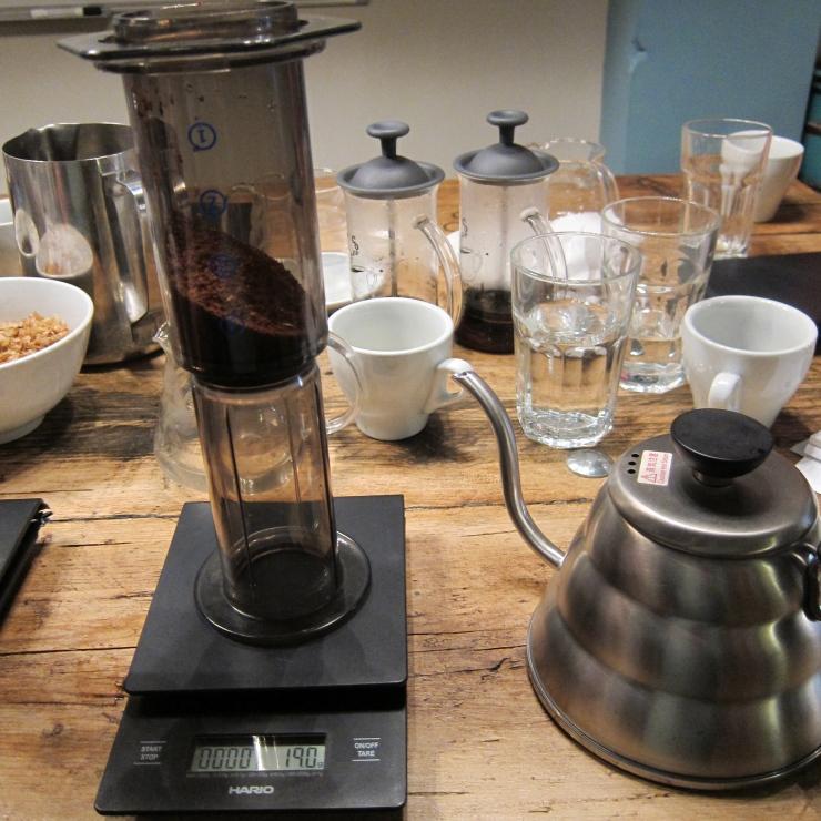 Aeropress, Artisan Coffee