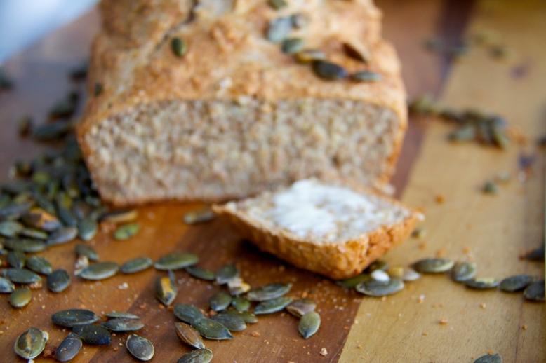 Buttered loaf