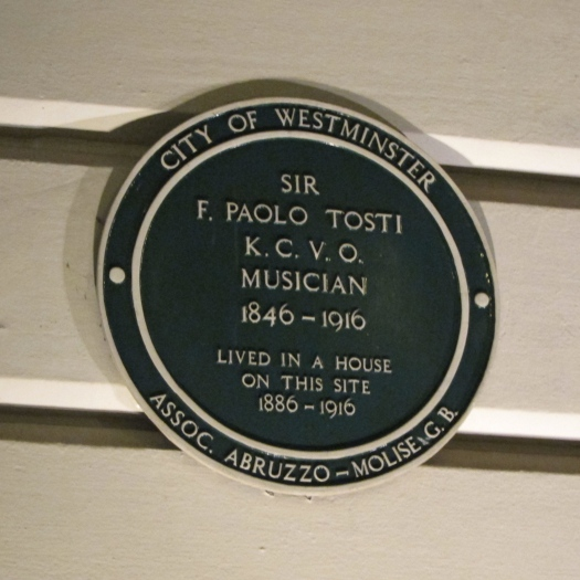 Paolo Tosti Plaque