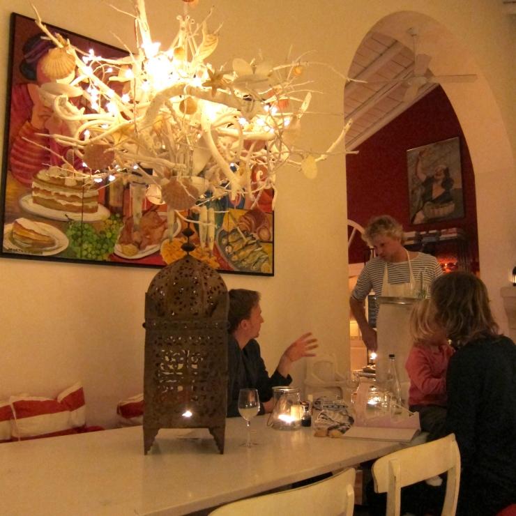 Restaurant. Quinta Da Cebola Vermelha