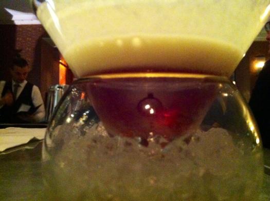 Rhubarb Cocktail, Social Reform Bar & Grill