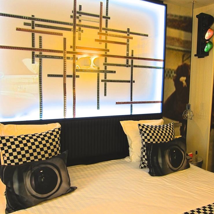 Bedroom, 123 Sepastopol, Paris