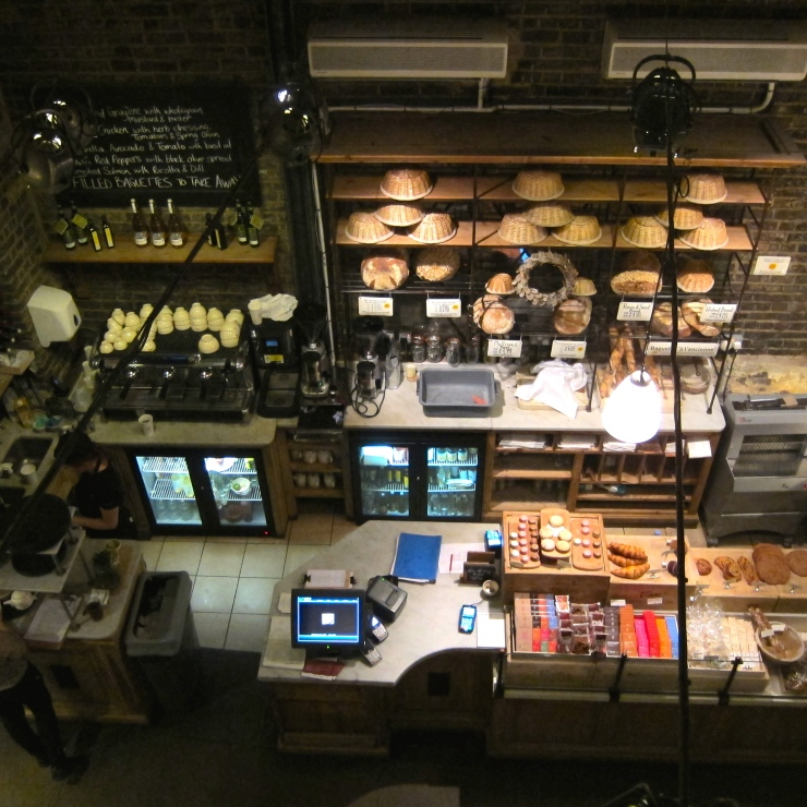 Le Pain Quotidien, Borough Market