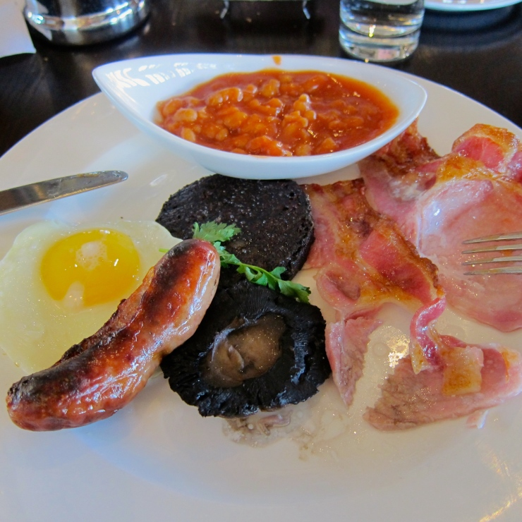 Full English Breakfast, The Compleat Angler