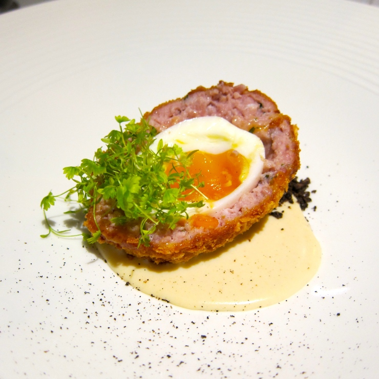 Scotch Egg, The Compleat Angler