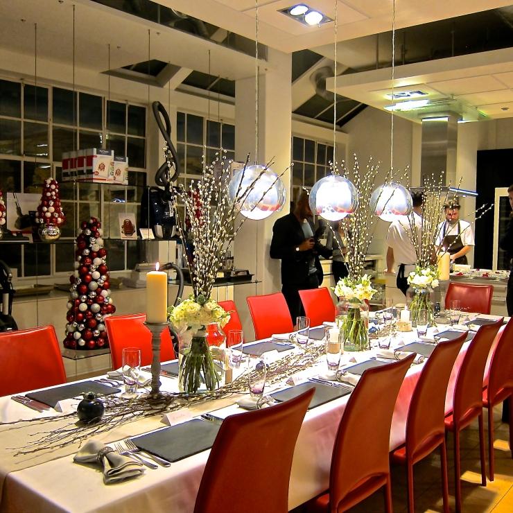 Miele Showroom, Secret Supper
