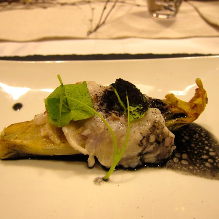 Sea Bass on Chicory