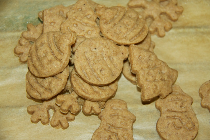 Cooked Speculaas Cookies