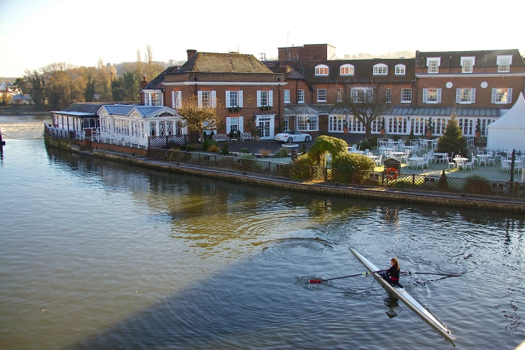 Rowing, The Compleat Angler