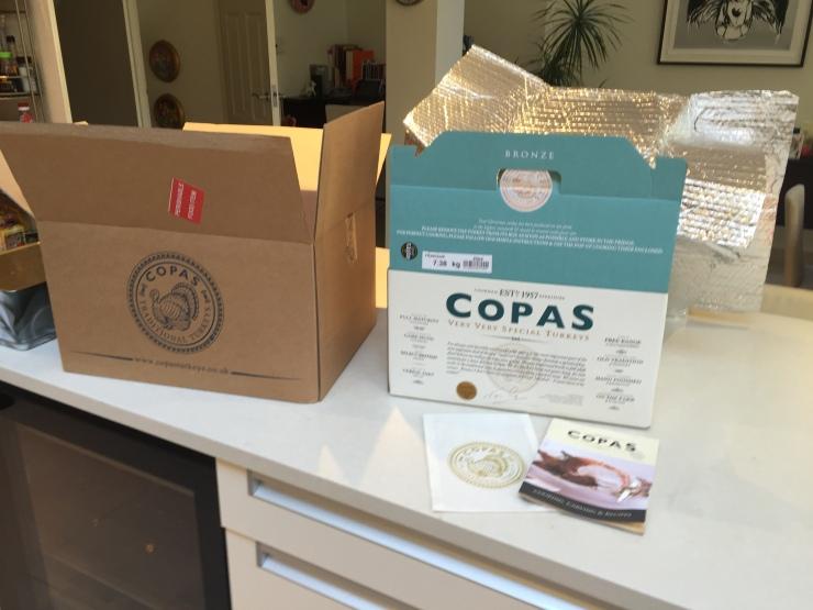 Copas Turkey box