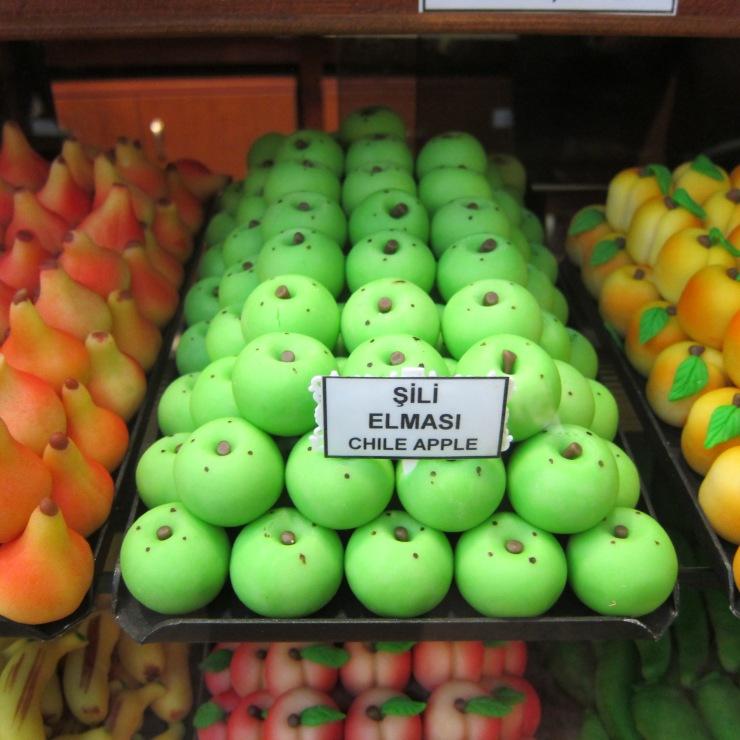 Marzipan Fruits, Istanbul