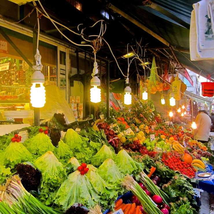 Fruit and Veg Stall, Istanbul