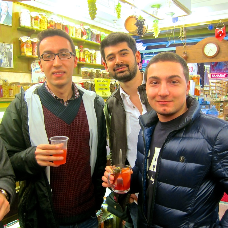 Pickle Juice Drinkers, Istanbul