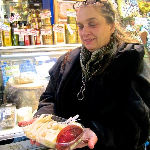 Cheese and Pastarmi