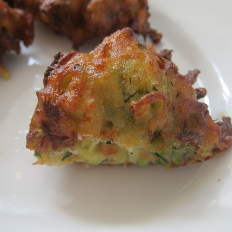 Deep Fried Courgette balls