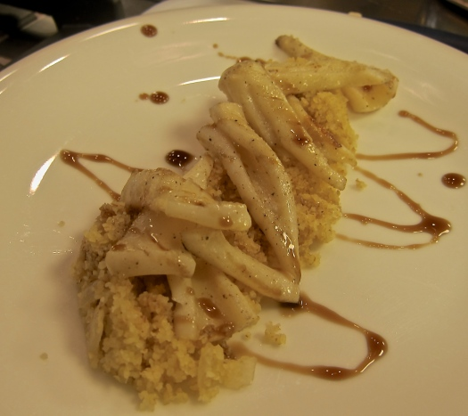 Squid and Cous Cous
