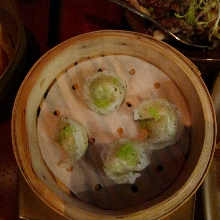 Lobster dumplings, Li Jiang, The Ritz-Carlton