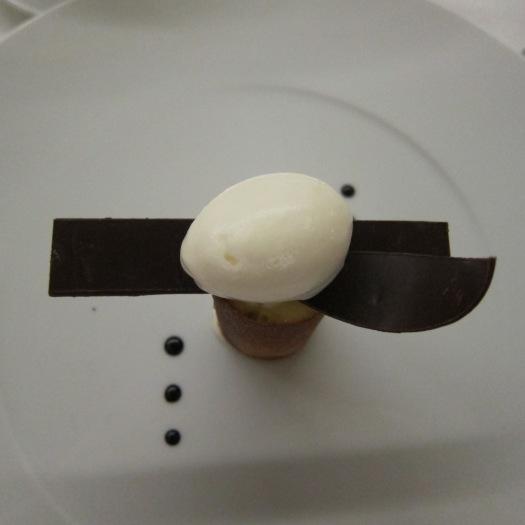 Chocolate, praliné and yuzu