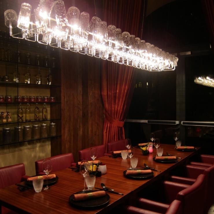 Dining Table, Li Jiang, The Ritz-Carlton