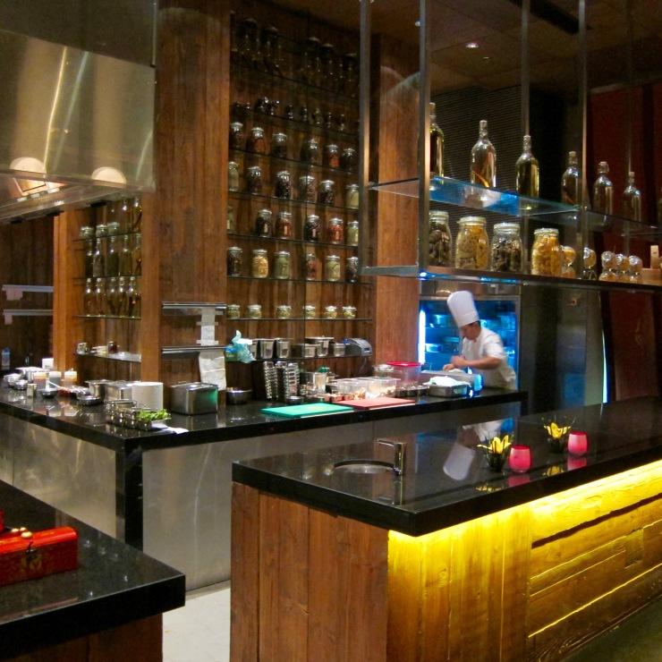 Kitchen, The Ritz-Carlton, Shangri La