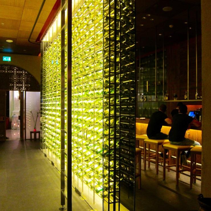 Bottle Wall, The Ritz-Carlton, Abu Dhabi