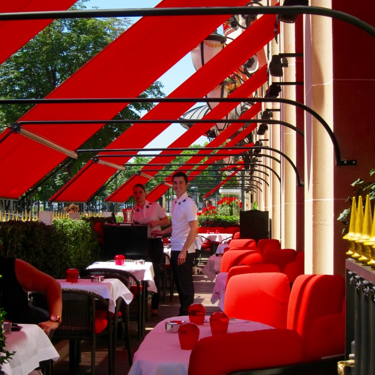 Terrace, Plaza Athenee