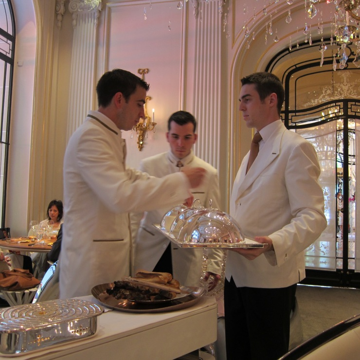 Waiting Staff, Alain Ducasse, Plaza Athenee