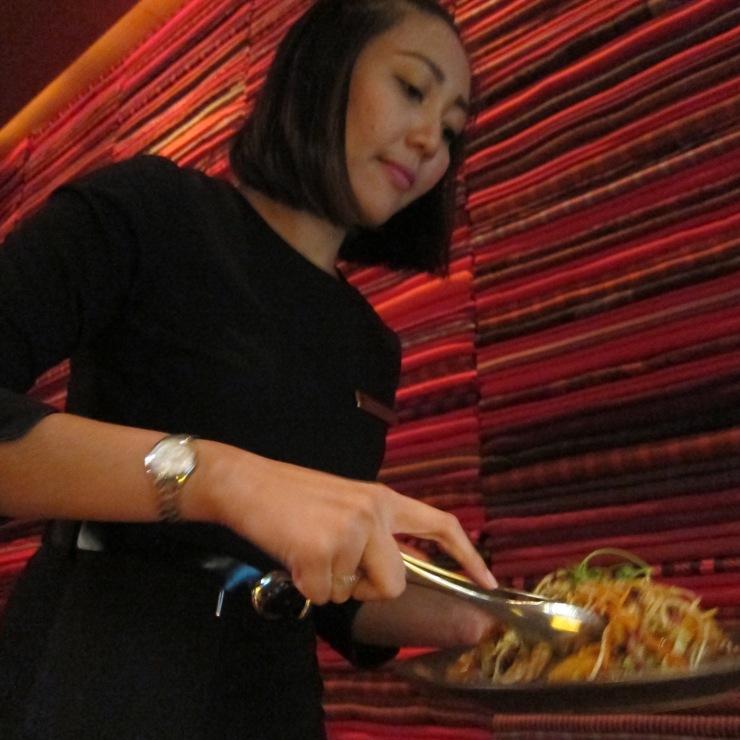 Flat noodles, Li Jiang, The Ritz-Carlton