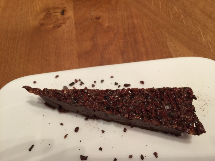 Chocolate slice, Alain Ducasse