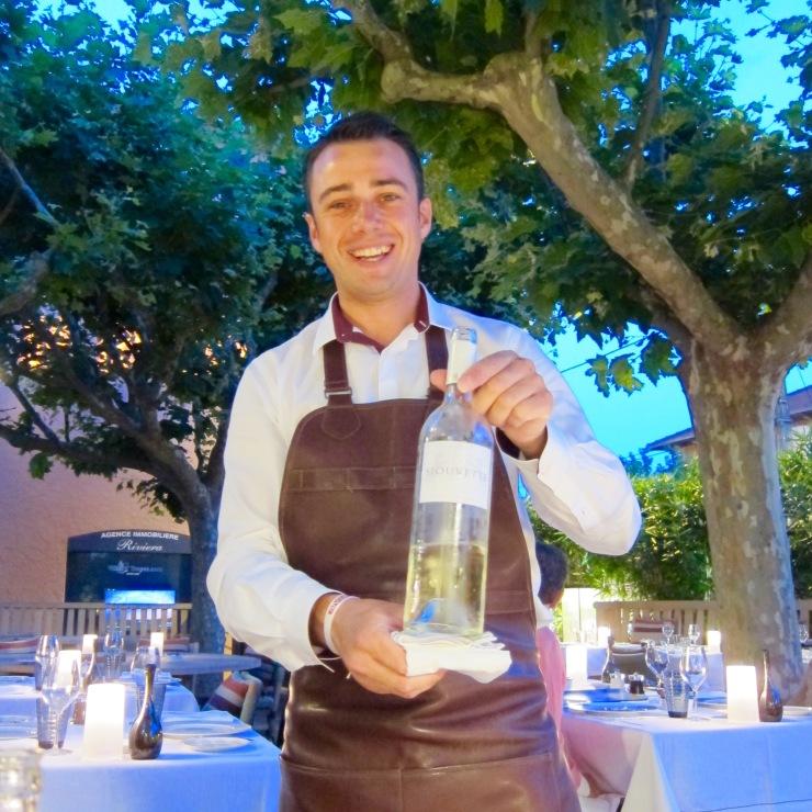 Staff, Rivea Restaurant, St Tropez