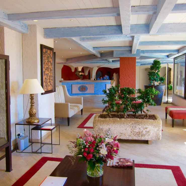 Reception, Hotel Byblos