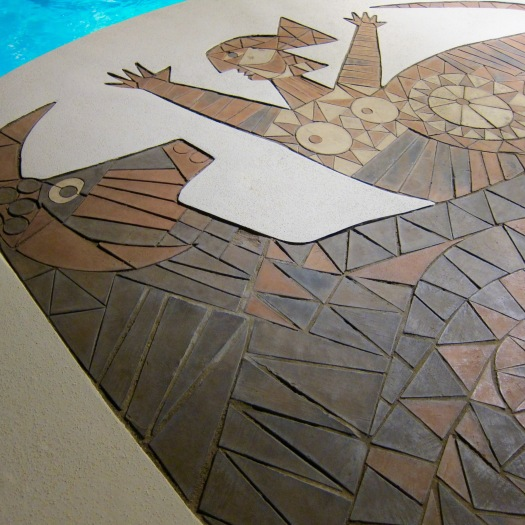 Mosaic, Byblos, St Tropez