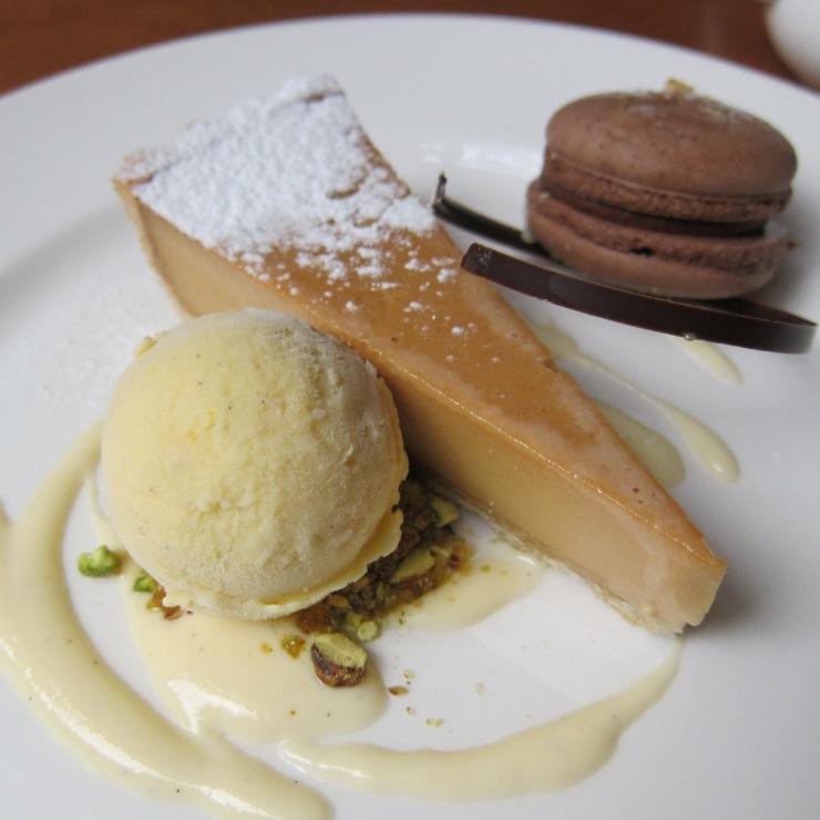 Caramel Tart, Waddesdon Manor