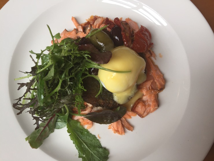 Smoked salmon and sea trout