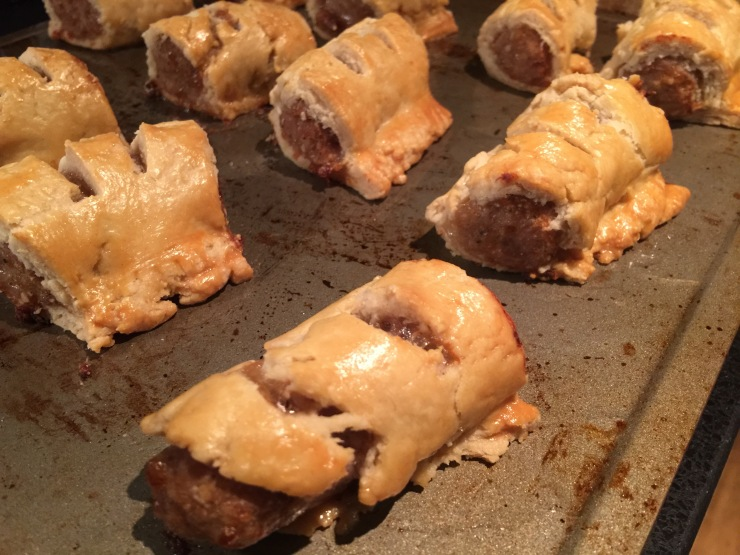 Beef Dripping Sausage Rolls