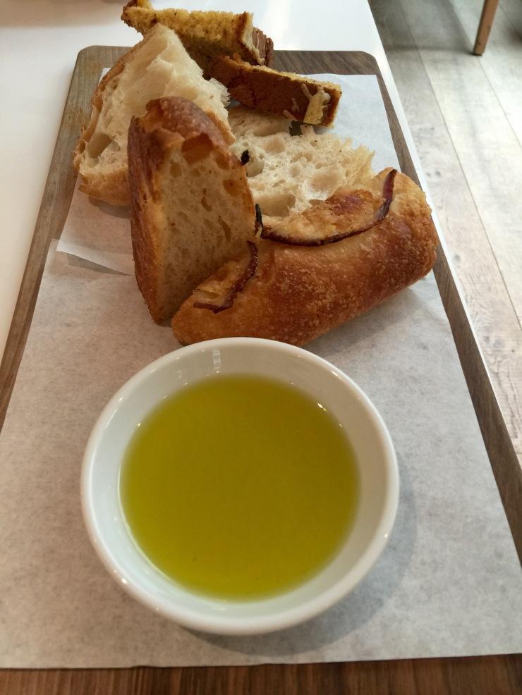 Bread slate, Ottolenghi