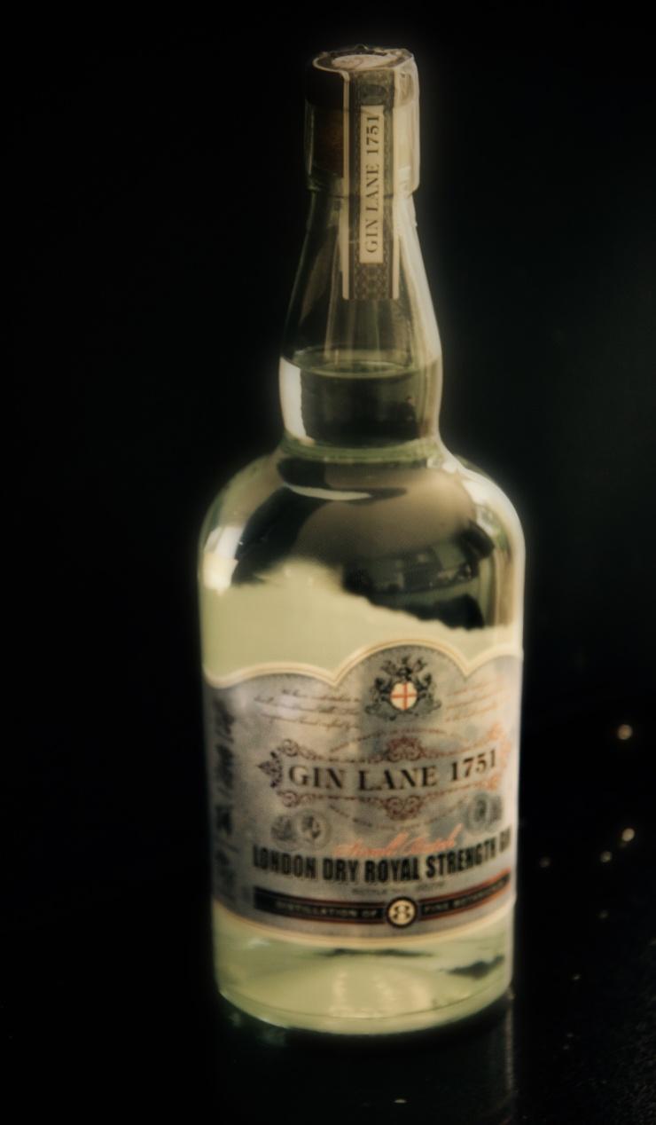 Gin Lane 1751, Gin